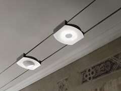 Lampada a sospensione a LED su cavi in alluminioSELF-C15 - LINEA LIGHT GROUP