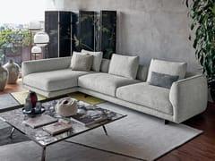 Divano in tessuto con chaise longueSELF CONTROL | Divano con chaise longue - ARKETIPO