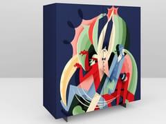 Credenza in legno con ante a battenteASTRATTO 57 | Credenza - PICTOOM  ART FOR YOUR HOME DI MAROGNA CESARE & FIGLI