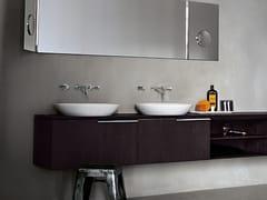 Lavabo a semincasso ovale in Cristalplant®SPOON | Lavabo - AGAPE