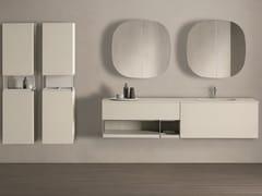 Mobile lavabo singolo sospeso con cassettiSEN | Mobile lavabo sospeso - FIORA