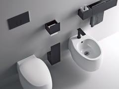 Placca di comando per wc in alluminio anodizzatoSEN | Placca di comando per wc - AGAPE
