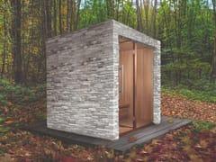 Sauna finlandese per esterno prefabbricataSENSATION OUTDOOR - CARMENTA