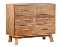 Cassettiera in legno masselloSEPIA - ARREDIORG