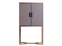 Mobile bar in legno impiallacciato e metalloSESTO SENSO | Mobile bar - CIAC-EXPORT