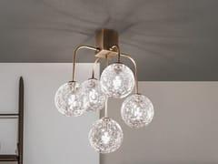 Lampada da soffitto in metallo e vetroSEVENTIES   Lampada da soffitto - ZAFFERANO AILATI LIGHTS