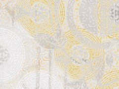 Carta da parati geometrica stampata in digitale con motivi florealiSEVENTIES - TECNOGRAFICA