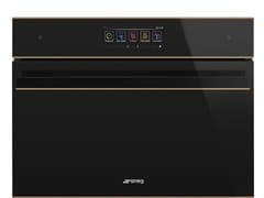 Forno combinato da incasso in vetro con touch screen classe A+SF4606WVCPNR - SMEG