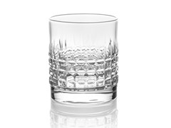 Set di bicchieri da cocktail in vetro decoratoSHAKE & STIR No.5 - INDUSTRIA VETRARIA VALDARNESE
