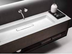 Mobile lavabo singolo sospeso con cassetti SHAPE EVO | Mobile lavabo singolo - Shape Evo