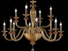 Lampadario in cristallo con cristalli Swarovski® SHEEN L8+4 - Sheen