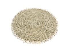 Tovaglietta rotonda in fibre vegetaliSHELL | Tovaglietta in seagrass - BAZAR BIZAR