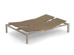 Lettino da giardino matrimoniale reclinabile in alluminioSHINE | Lettino da giardino - EMU GROUP