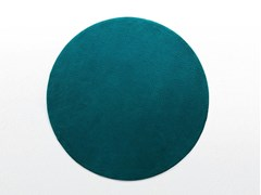 Tappeto a tinta unita rotondo in lana SHORE | Tappeto rotondo - Area