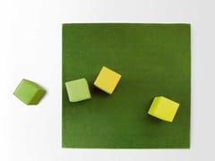 Tappeto a tinta unita quadrato in lana SHORE | Tappeto quadrato - Area