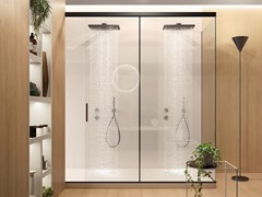 Box doccia angolare in cristalloBox doccia angolare - GAROFOLI