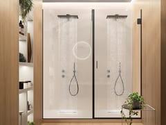 GAROFOLI, Box doccia a nicchia Box doccia a nicchia in cristallo