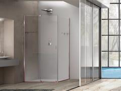 Box doccia rettangolare in vetro con porta scorrevoleILLUSION   Box doccia - MEGIUS