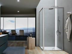 Gruppo Geromin, FORTY | Box doccia con porta a battente  Box doccia con porta a battente