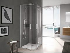 Gruppo Geromin, TIME | Box doccia con porta a battente  Box doccia con porta a battente