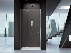 Box doccia a nicchia in vetro con porta a battentePRISMA 2.0 | Box doccia con porta a battente - MEGIUS
