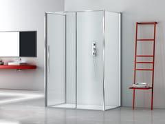 Box doccia rettangolare in vetro con porta scorrevoleZEN XL | Box doccia con porta scorrevole - MEGIUS