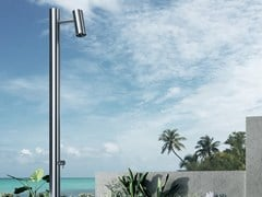 Colonna doccia da terra in acciaio inoxKINO | Colonna doccia - AQUAELITE