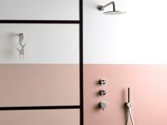 Set doccia termostatico in acciaio inox con doccetta SYNTH | Set doccia - SYNTH
