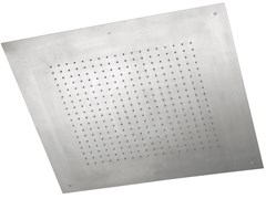 Soffione doccia a soffitto da incasso in acciaio inox SHOWERS STEEL - 8572808 - ShowersSteel
