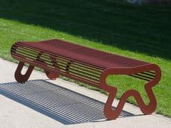 Panchina in acciaio inox senza schienaleSIARDO 10 R | Panchina - BENKERT BÄNKE