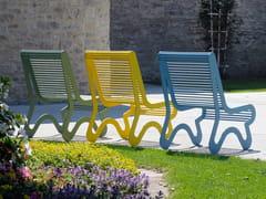 Seduta da esterni in acciaio inoxSIARDO 10 R | Seduta da esterni - BENKERT BÄNKE