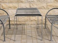 Tavolo per spazi pubblici rettangolare in acciaio inoxSIARDO 120 R | Tavolo per spazi pubblici - BENKERT BÄNKE