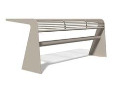 Tavolo per spazi pubblici rettangolare in acciaio inoxSIARDO 20 R | Tavolo per spazi pubblici - BENKERT BÄNKE