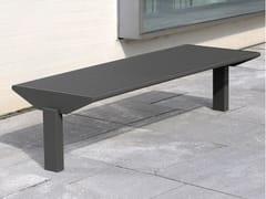 Panchina in acciaio inox in stile moderno senza schienaleSIARDO 50 R | Panchina - BENKERT BÄNKE