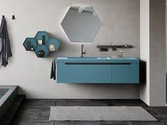 Mobile lavabo sospeso con cassettiSIDE 05 - ARCHEDA