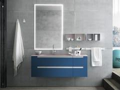 Mobile lavabo sospeso con cassettiSIDE 08 - ARCHEDA