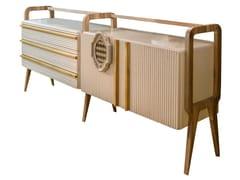 Madia in legno con ante a battente e cassettiMATILDA   Madia con cassetti - LOLA GLAMOUR