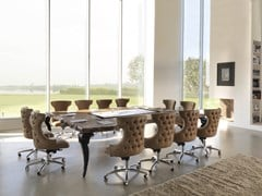 Tavolo da riunione multimediale rettangolare in legnoSIDNEY | Tavolo da riunione - BIZZOTTO