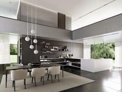 Cucina con penisolaSieMatic PURE - SE 4004 / 5005 - SIEMATIC