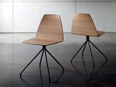 Sedia su trespolo in multistrato SILA TRESTLE | Sedia in multistrato - Sila