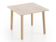 Tavolino da caffè quadrato in rovere SILAÏ | Tavolino quadrato - Silaï