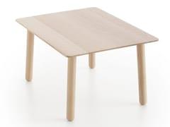 Tavolino da caffè rettangolare in legno in stile moderno da salotto SILAÏ | Tavolino rettangolare - Silaï