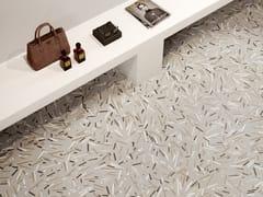 Pavimento/rivestimento in gres porcellanato effetto pietraSILKYSTONE DECOR GREIGE - CERAMICA SANT'AGOSTINO