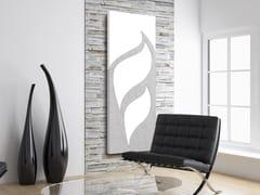 Radiatore / termoarredo in alluminio FOGLIA D'ARGENTO - DP 00501 - Doppia piastra - Foglia Argento