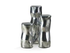 Tavolino alto in alluminioSILVER TREE | Tavolino alto - ROCHE BOBOIS