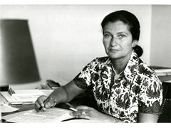 Stampa fotograficaSIMON VEIL IN 1974 - ARTPHOTOLIMITED
