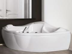 Vasca da bagno a 2 posti idromassaggio in acrilicoSINERGIA - RELAX DESIGN
