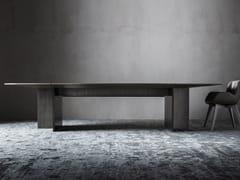 Tavolo ovale in legnoSINFONIA - OAK INDUSTRIA ARREDAMENTI