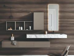 Lavabo singolo sospeso in marmo di CarraraPURE | Lavabo singolo - FIORA