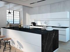 Top cucina in ceramica sinterizzata effetto marmoNEGRO MARQUINA | Top cucina in ceramica sinterizzata - ITT CERAMIC